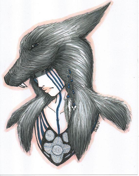 Wild Wolves - Art Bacikly