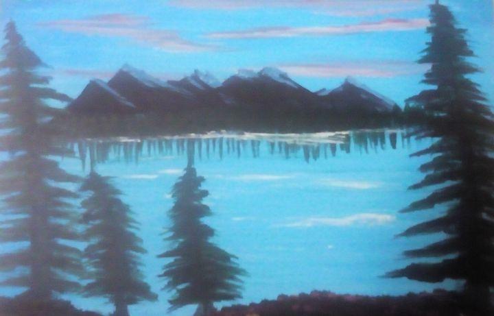 Mountain Scene - Bjarke Drejer