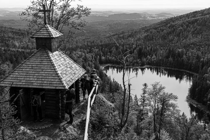 B&W lake - Tommer Rissin