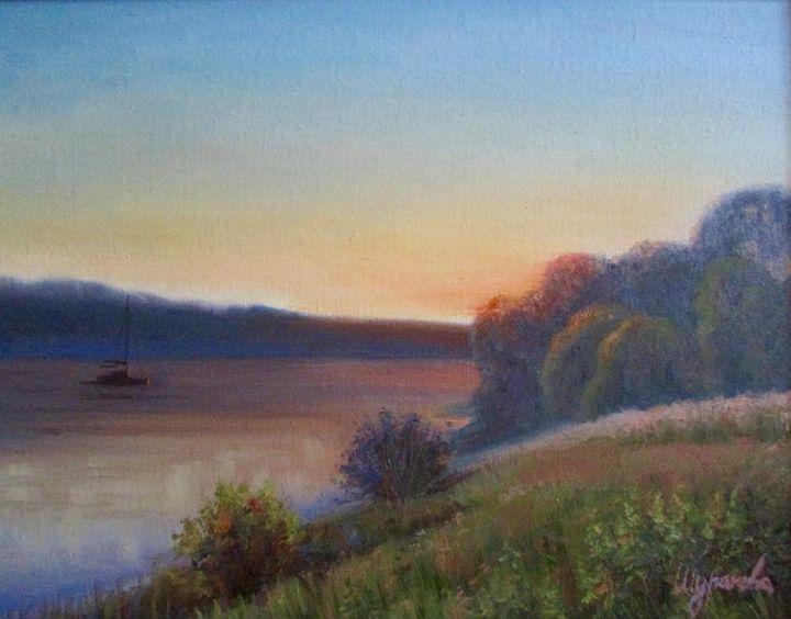 Sunset - Anna Shurakova  Paintings