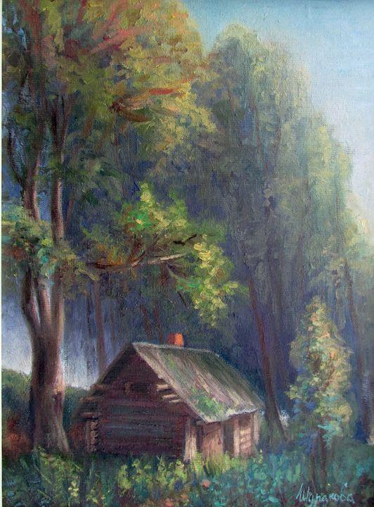 Warm Evening - Anna Shurakova  Paintings