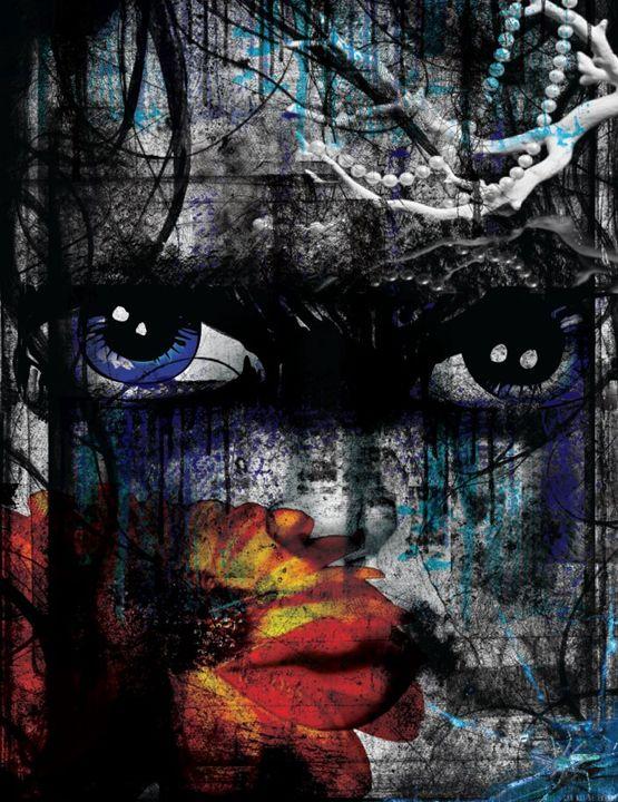 Blue - Heart 2 Art Graphics