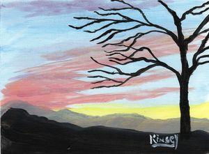 Mountain Sunset Final