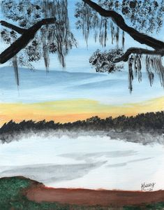 Florida Lagoon View - Original