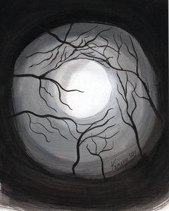 Moonlight in the Trees_Original