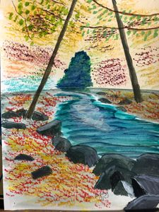 Linear Park Watercolor