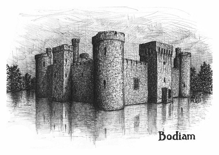 Bodiam Castle, England - Michael Rush