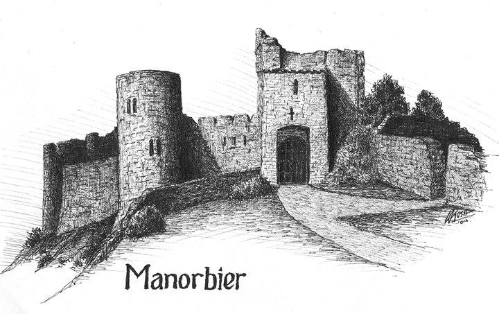 Manorbier Castle, Wales - Michael Rush