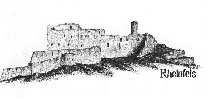 Rheinfels Castle, Germany - Michael Rush