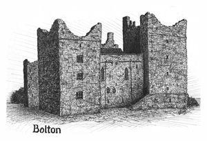 Bolton Castle, England