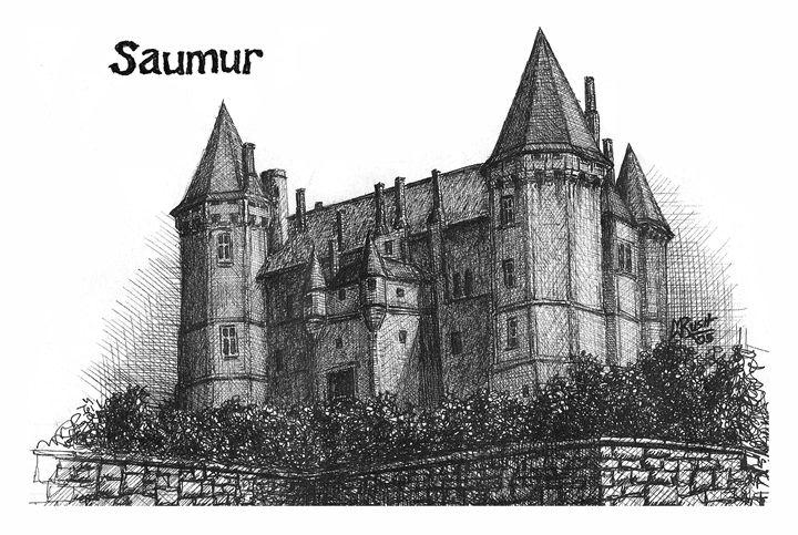 Château de Saumur, France - Michael Rush