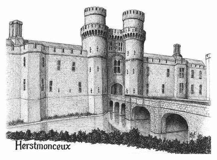 Herstmonceux Castle, England - Michael Rush