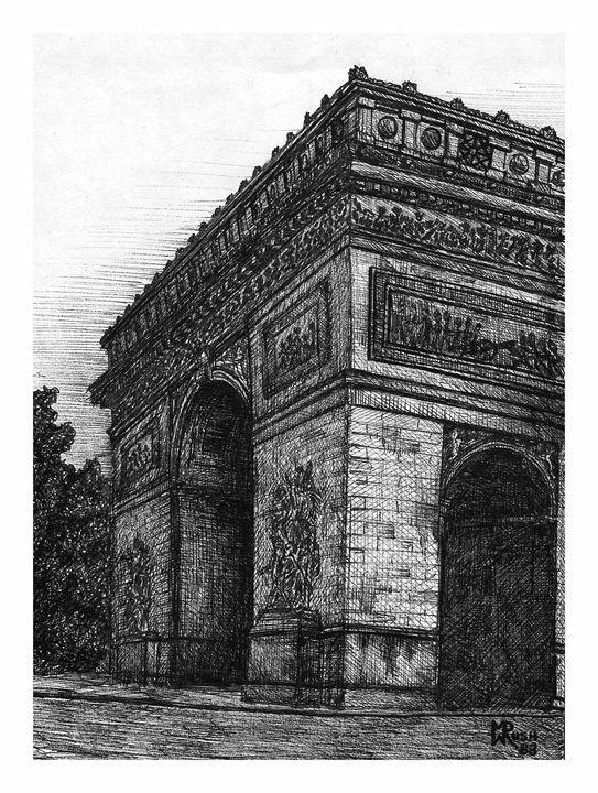 Arc de Triomph, Paris, France - Michael Rush