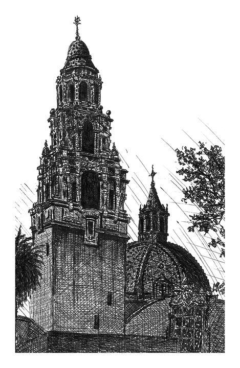 California Building, San Diego, USA - Michael Rush