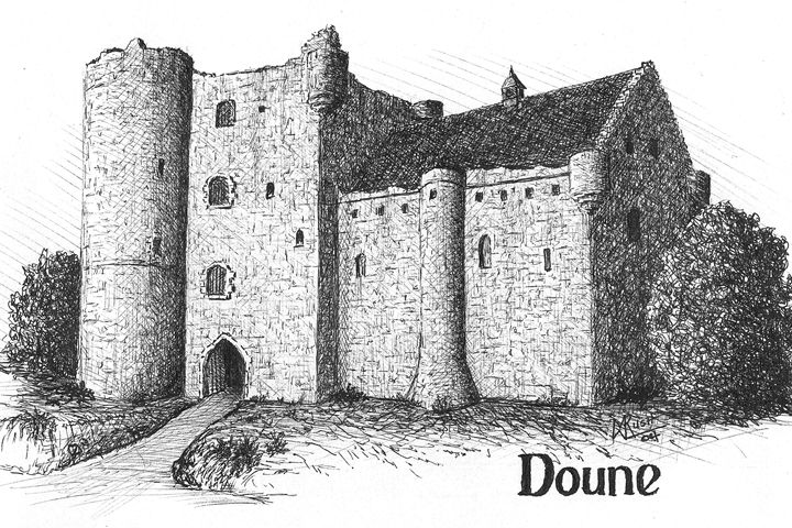 Doune Castle, Scotland - Michael Rush