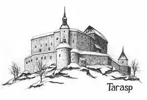 Tarasp Castle. Switzerland
