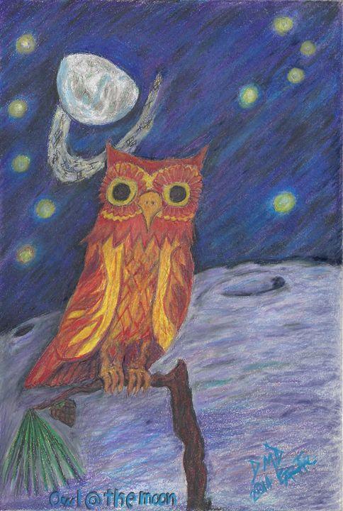 Owl@theMoon - D'veedLuis_Studios