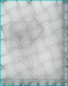 Close, pencil's soft poetic geometry