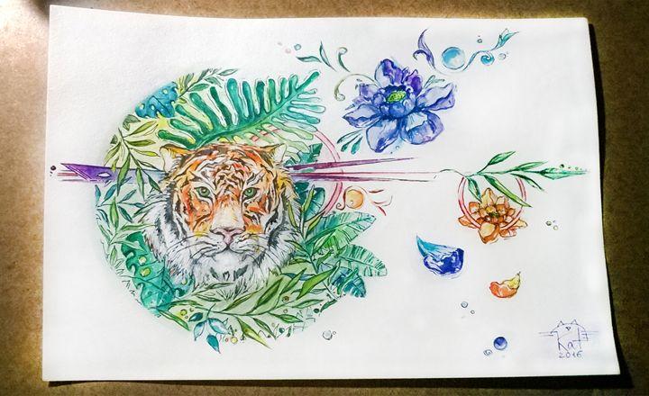 Tropical Mood 1 - Kate Turova