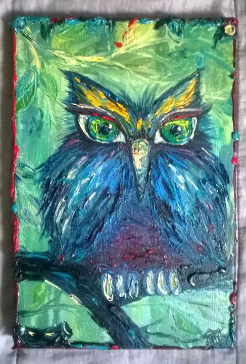 Owl Mood 1 - Kate Turova