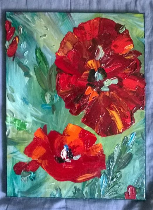 Poppies - Kate Turova