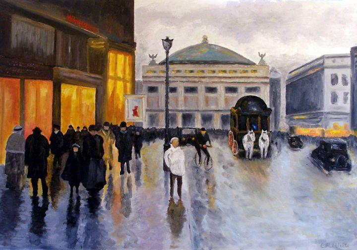 French Shoppers - Charles Robert (Bob) Welti