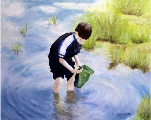 Bag Fishing - Charles Robert (Bob) Welti