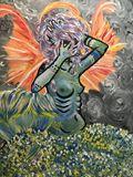 Original Acrylic Mermaid Painting