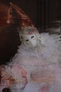 White Moon Mask