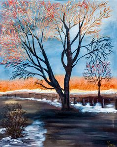 End of Fall - Kim Karen's Gallery
