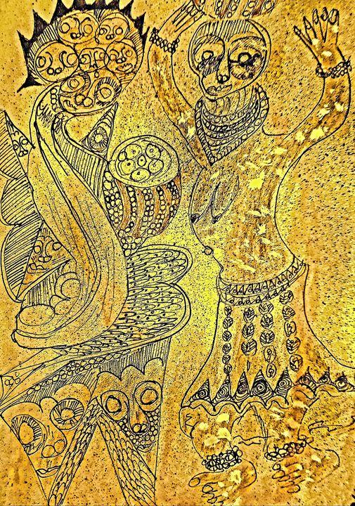 Creative Arts Amu  012 - CHIEF GIFT KOFI AMU - LOGOTSE @TAAC