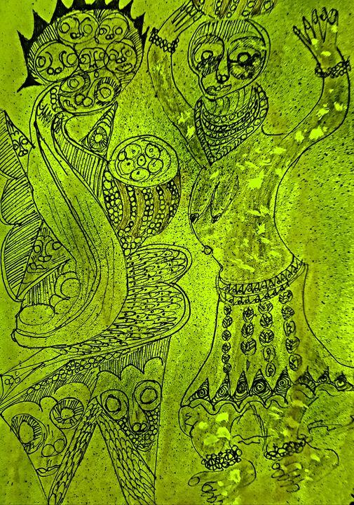 Creative Arts Amu  019 - CHIEF GIFT KOFI AMU - LOGOTSE @TAAC