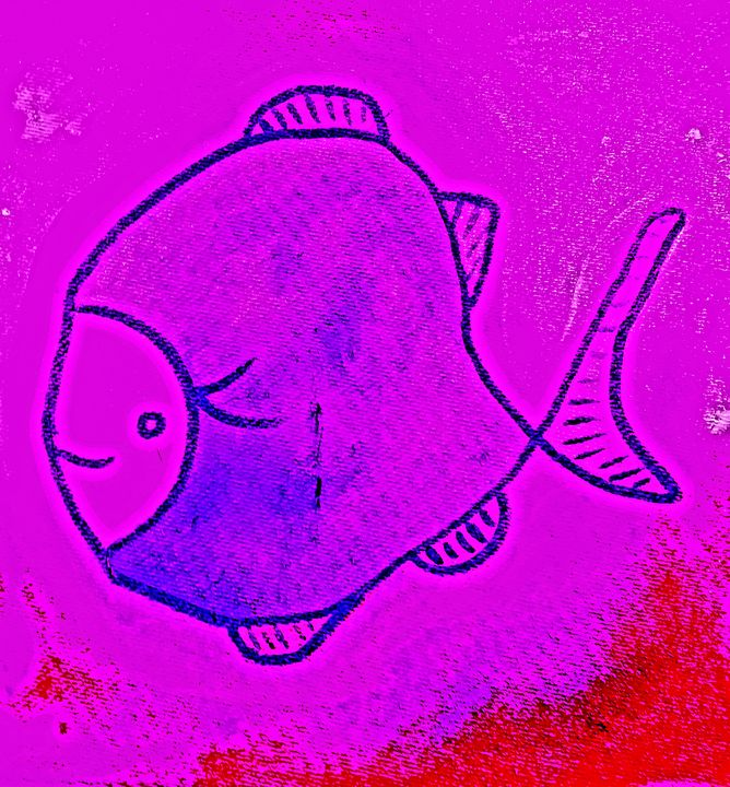Purple Fish - The African Arts Centre