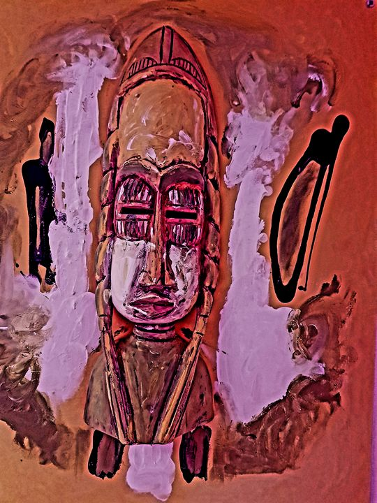 Aboriginal Face - The African Arts Centre