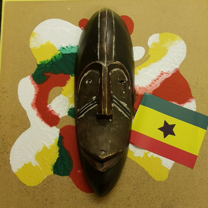 Aboriginal  Ghanian Art - The African Arts Centre