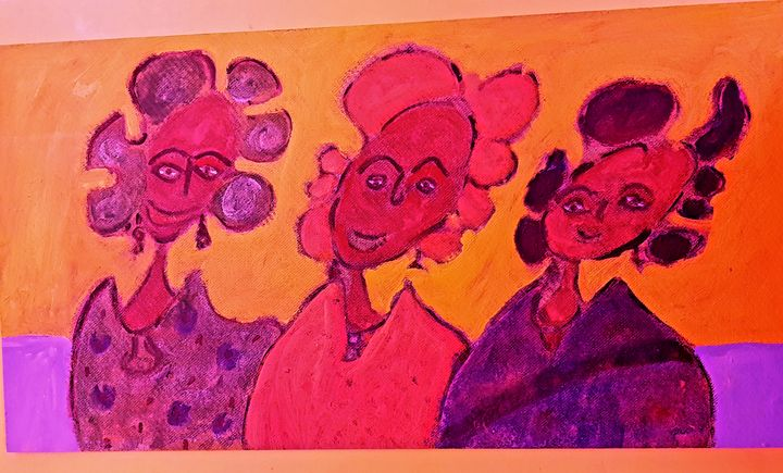 Three Wise  Women - The African Arts Centre