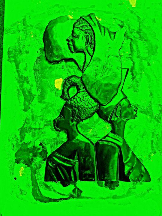 The green People - The African Arts Centre