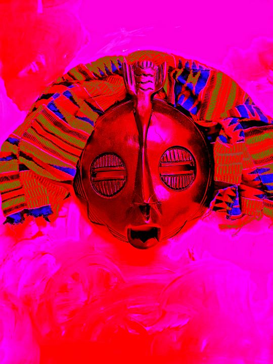 Kante Mask - The African Arts Centre