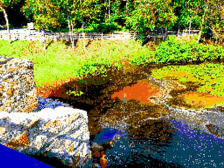 Barney Pond - Art by Alec