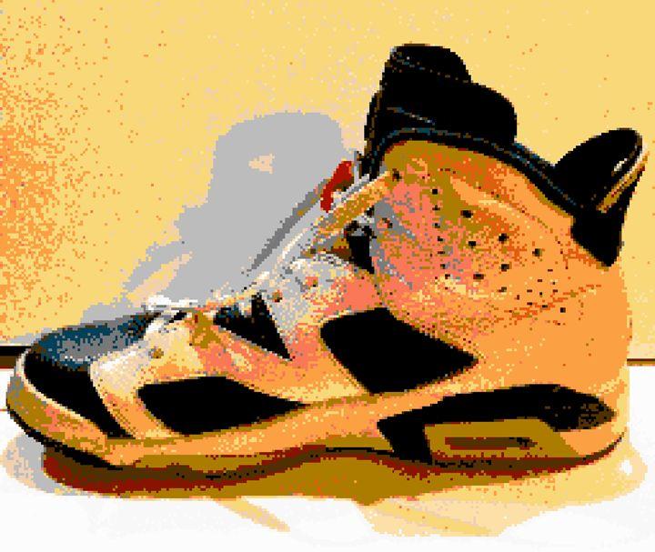 Retro Jordan - Art by Alec