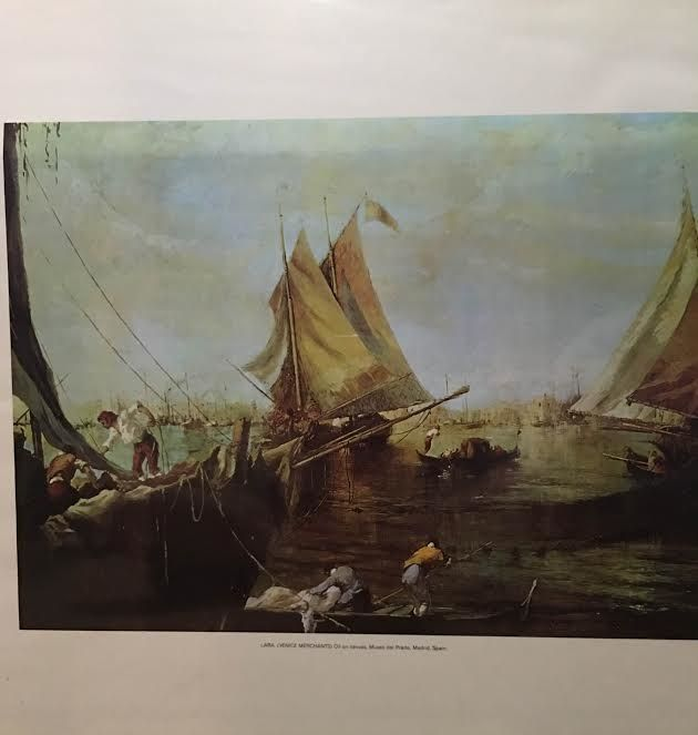 Lara, Venice Merchants, - Mary Svetlana Prosser