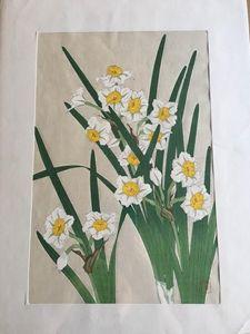 Antique Wood Cut Print - Mary Svetlana Prosser