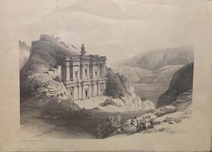 El Deir Petra - Mary Svetlana Prosser