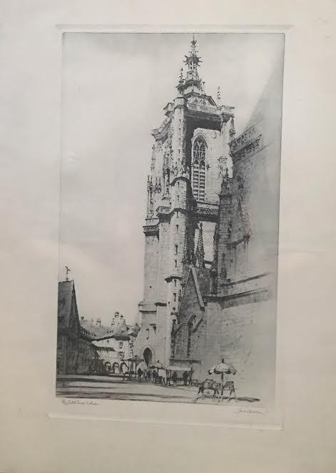 The Sunlit Tower - Mary Svetlana Prosser