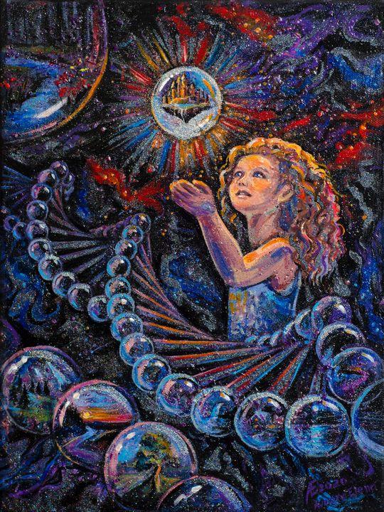 Inner World - COSMOS - Energy ART