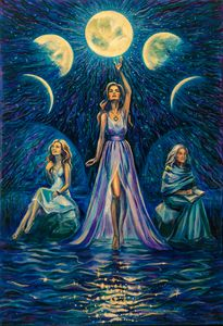 The Three Faces of the Moon Goddess