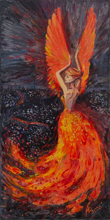 """Dance of the Firebird"" - Energy ART"