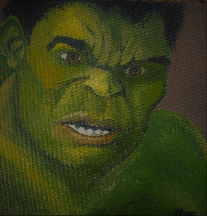 The Hulk - Amanda Lage Artworks