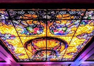 SILVER LEGACY STAINED GLASS CEILING