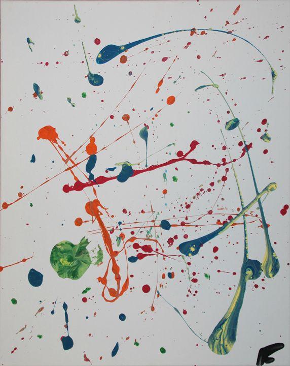 Celestial - Splatter Art from Branden Fisher